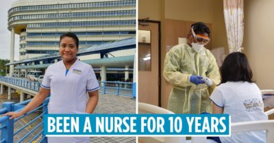 Being a nurse in Singapore