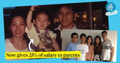 giving parents money