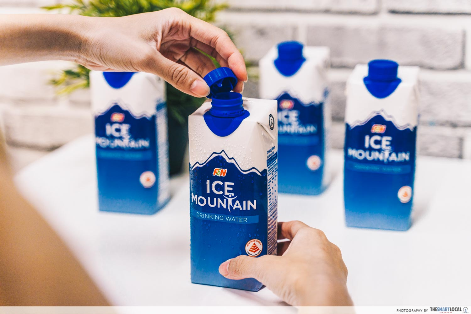 Ice Mountain recyclable packaging