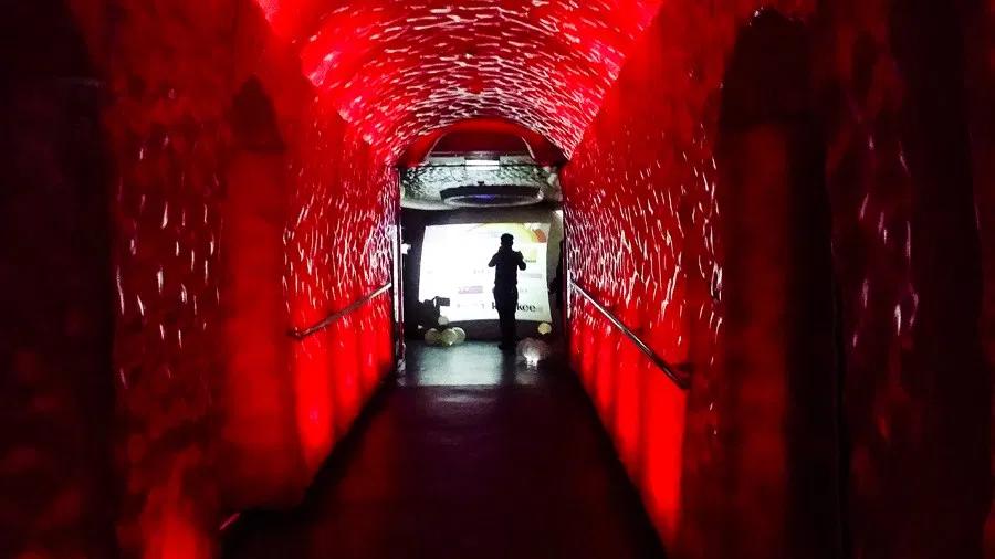 zouk entrance walkway