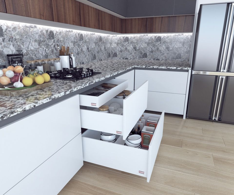 Kitchen and Wardrobe Design Tips - Drawers