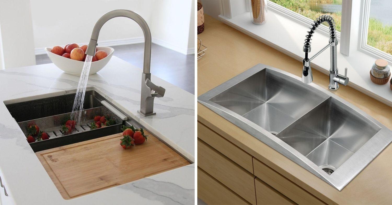 Kitchen and Wardrobe Design Tips - Sink