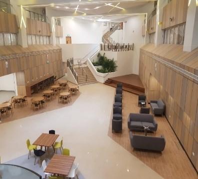 nus EA atrium study spot