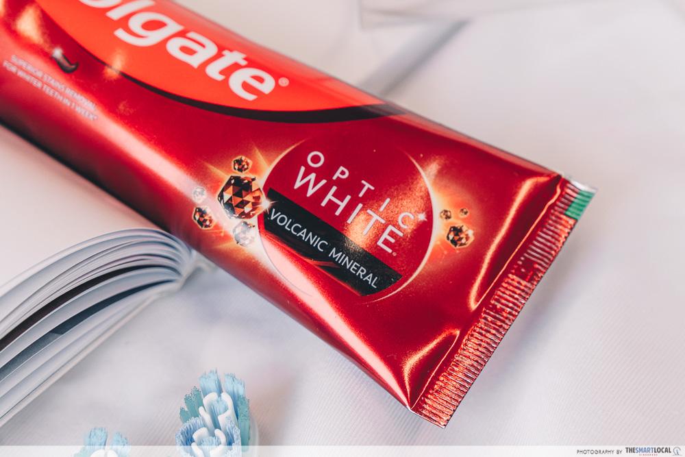 Colgate Volcanic Mineral toothpaste