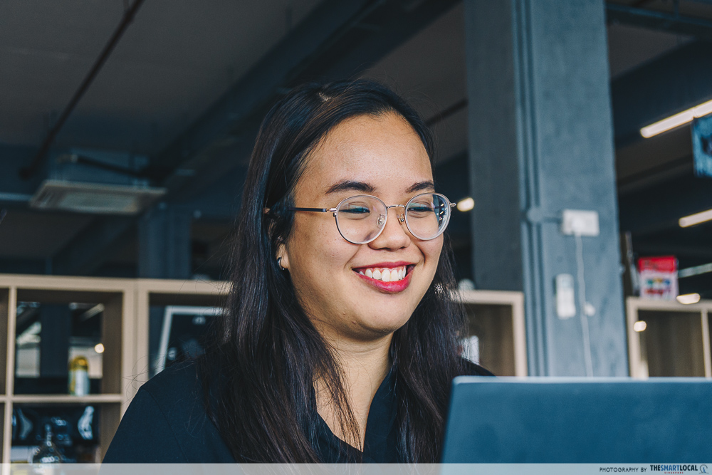 Online Job Interview Tips - Smile