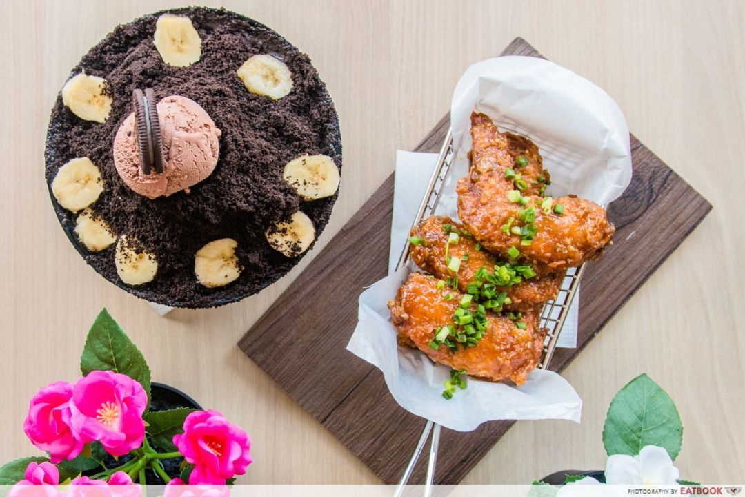 punggol container park - bingsu and korean fried chicken