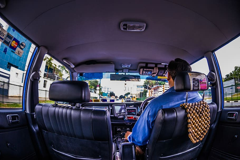 taxi driver in singapore