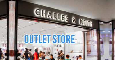 Charles and Keith outlet store