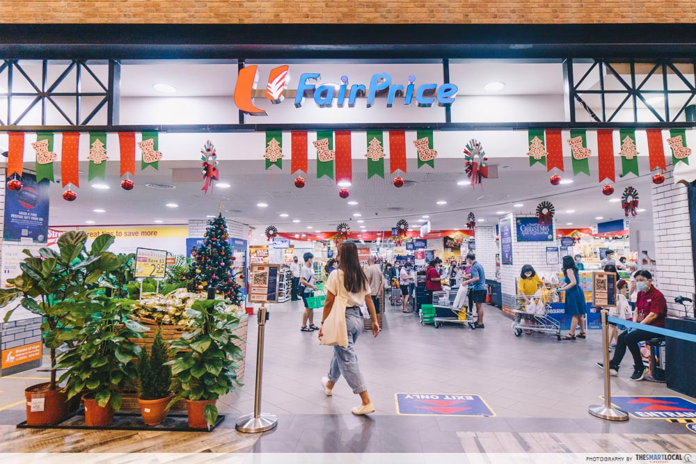 FairPrice Christmas Shopper Decor
