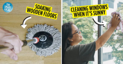 Common Cleaning Mistakes