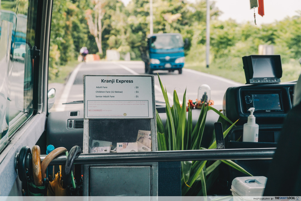 shuttle bus prices, countryside getaway in singapore