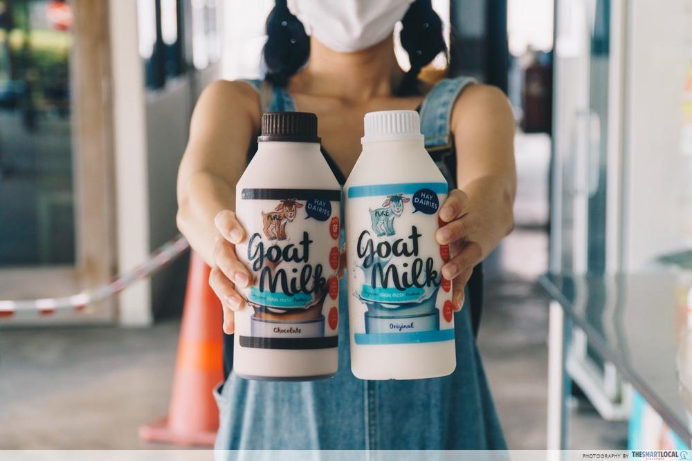 hay dairies goat milk