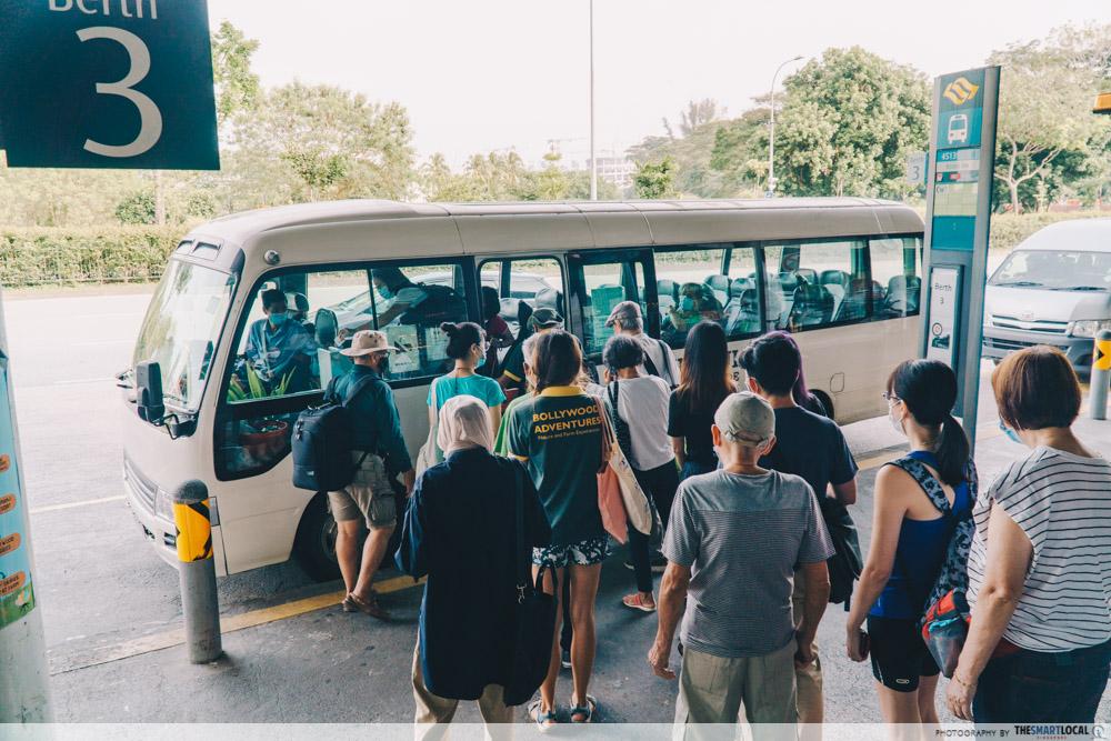 kranji countryside shuttle bus