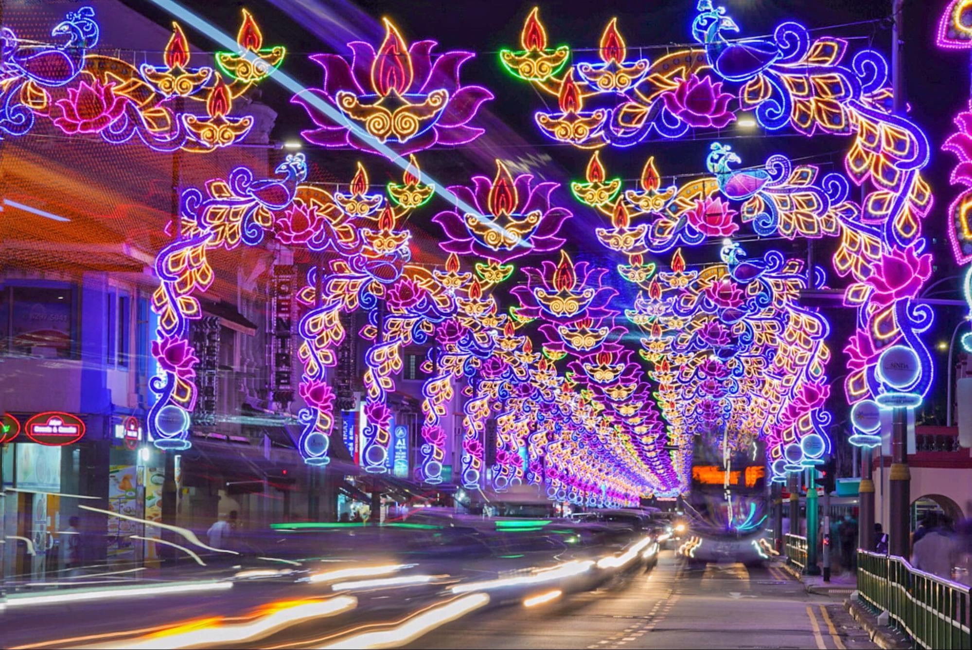 lights deepavali in singapore