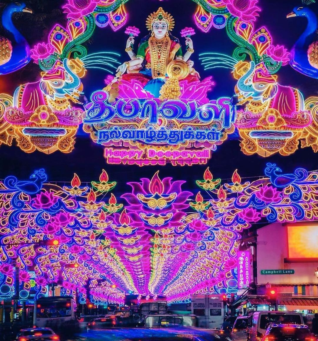 Deepavali Events Singapore 2020 - Little india light up