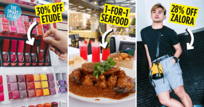 Dining Shopping Cashback Deals for DBS/POSB Cardmembers