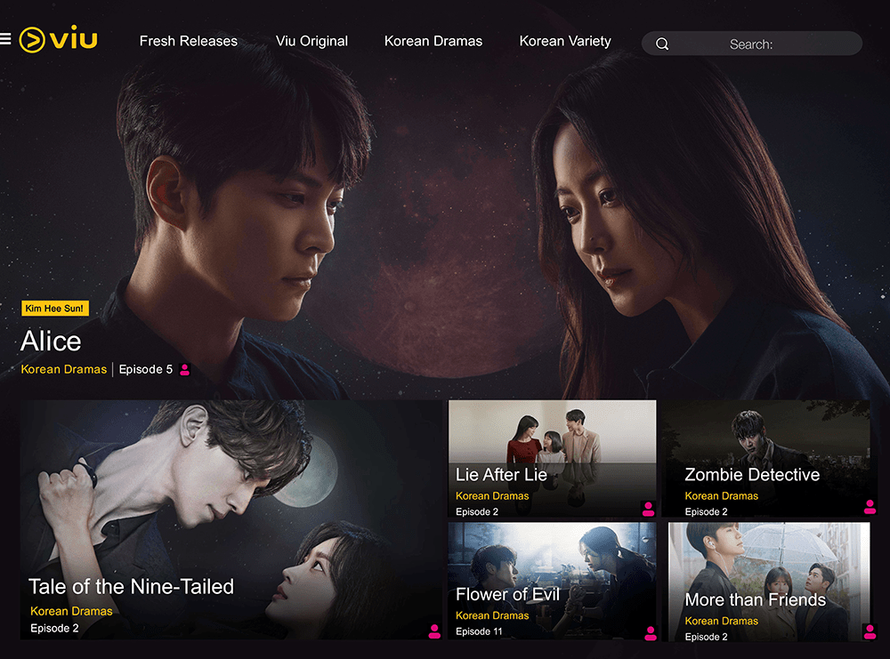 Viu streaming - Discounted Activities