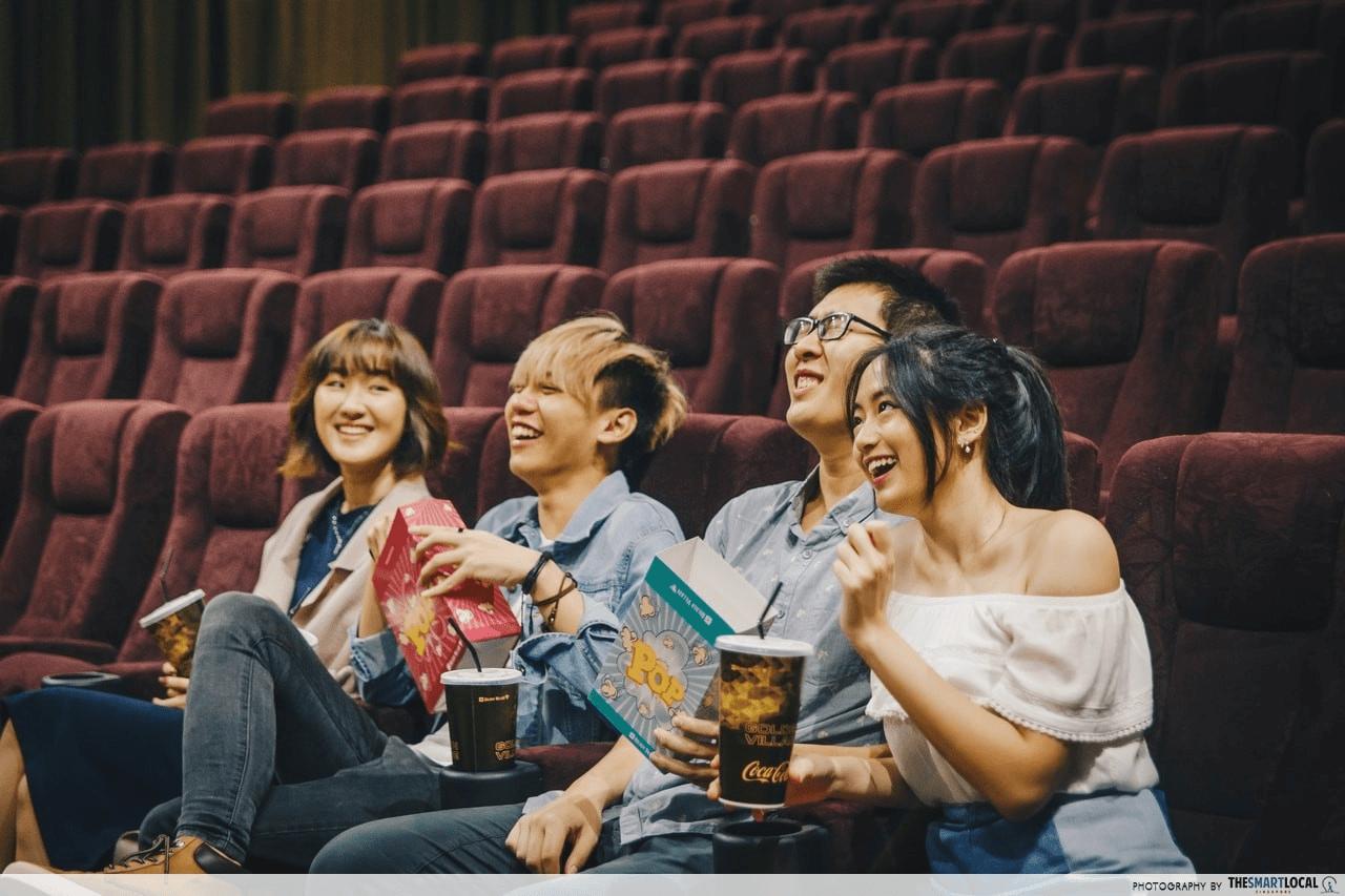 Golden Village cinema Singapore - Discounted Activities