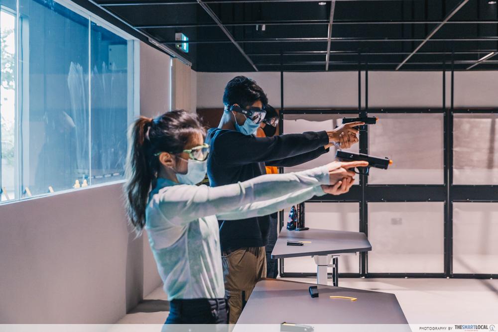 HometeamNS TactSim - Target Shooting Range