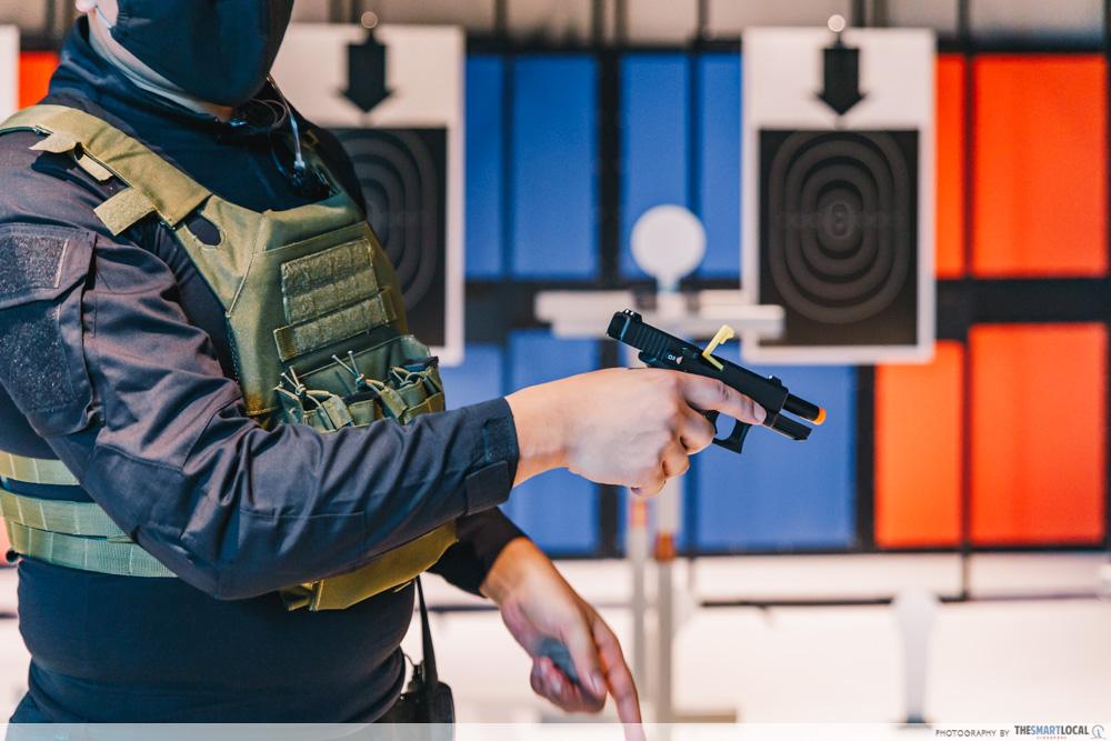 HometeamNS TactSim - Target Shooting Range - Glock 19