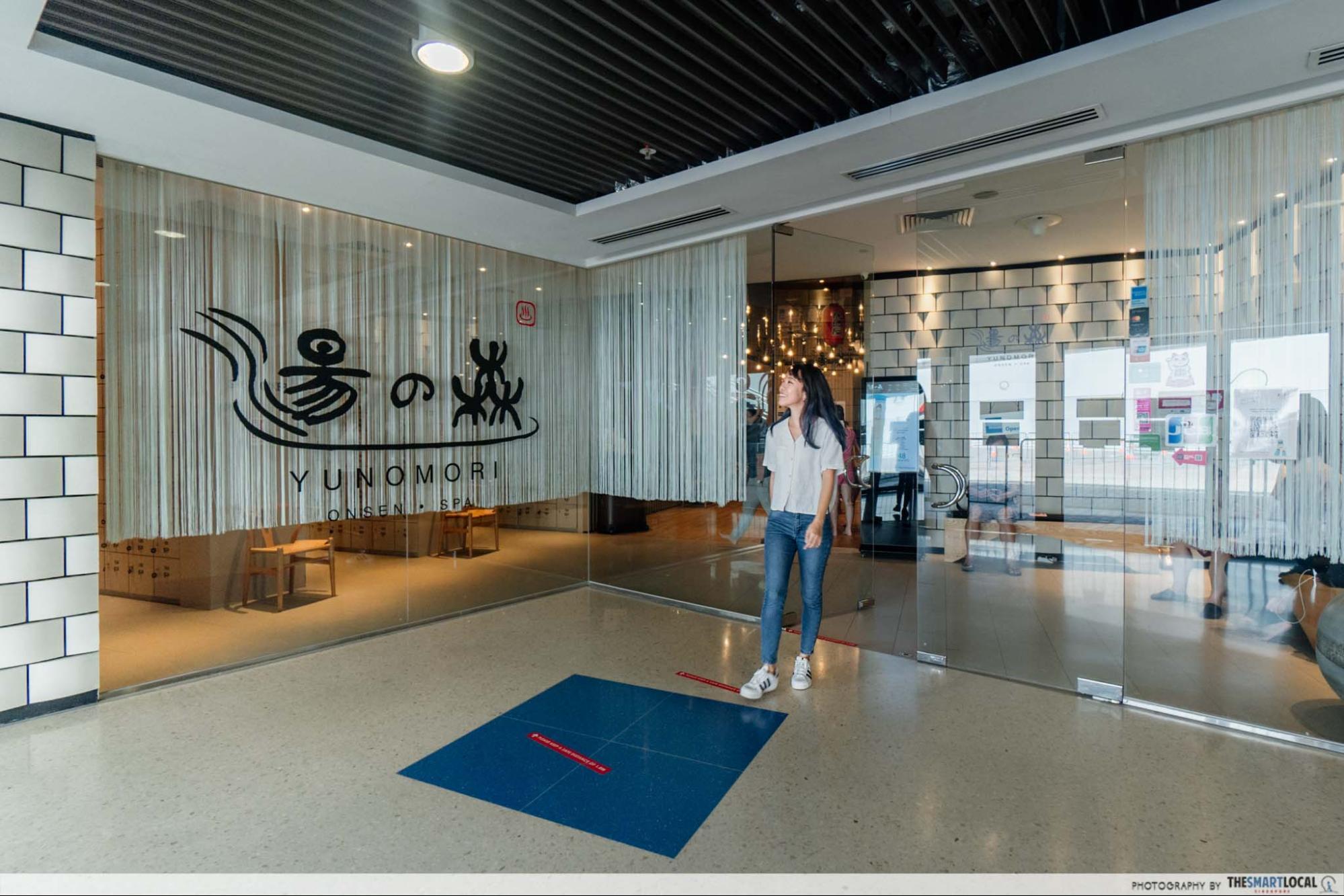 Kallang wave mall christmas 2020 -Yunomori Onsen & Spa