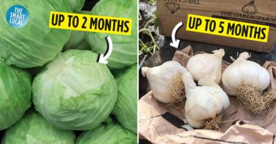 Longest Lasting Vegetables