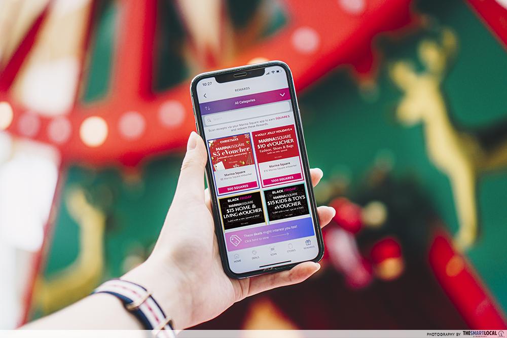 Marina Square app