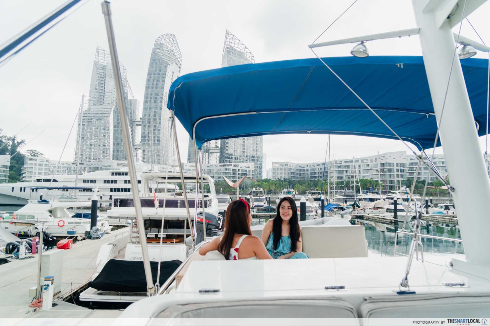 Singapore Yacht Charter - Keppel Bay