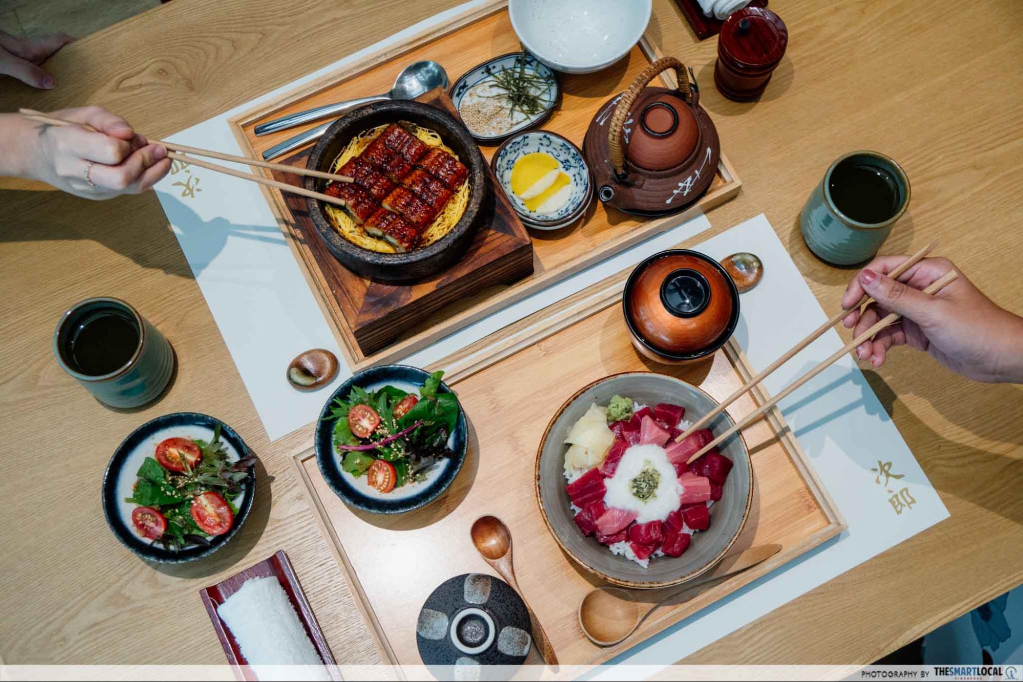 Sushi Jiro Unagi Stone Rice & Tekka Tororo Don