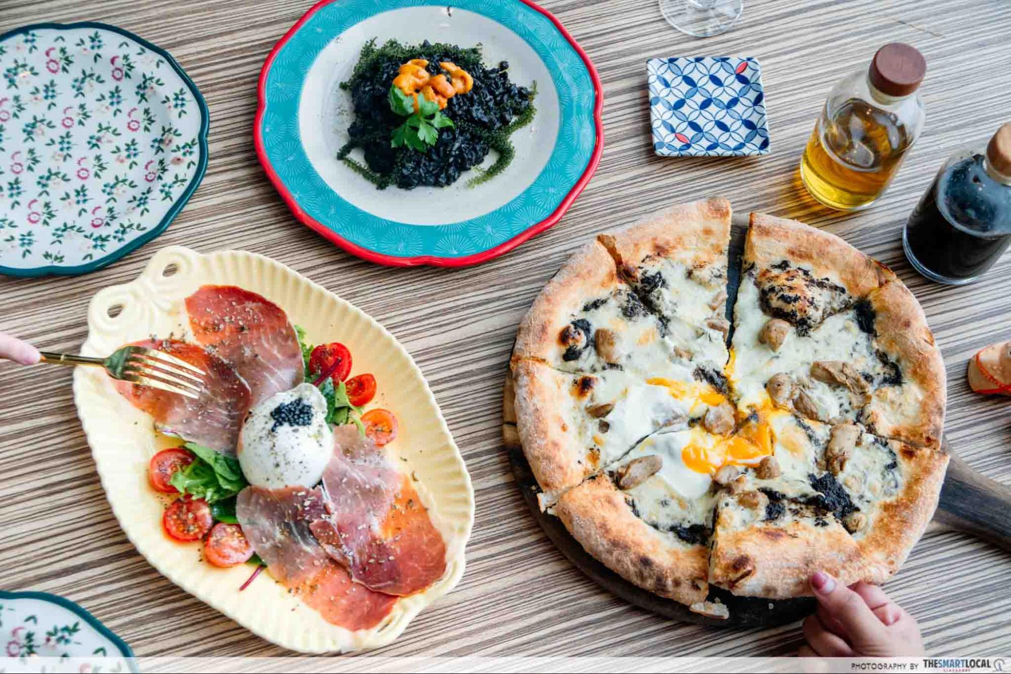 Italian Food in Singapore - Ristorante Palermo