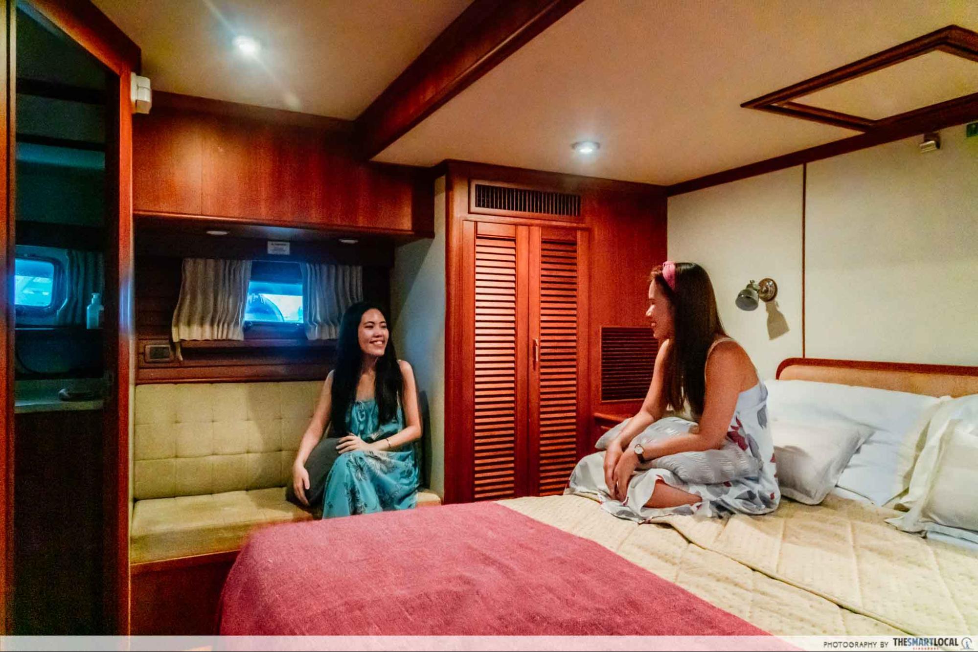 Yacht Interior Bedrooms Singapore