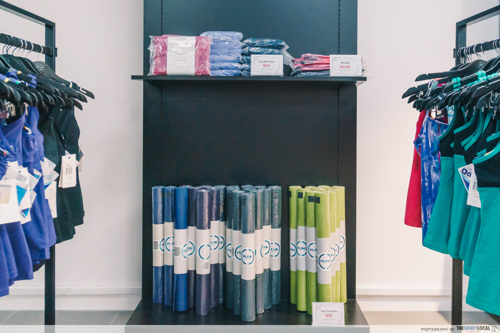 onthelist year-end sale - yoga mat