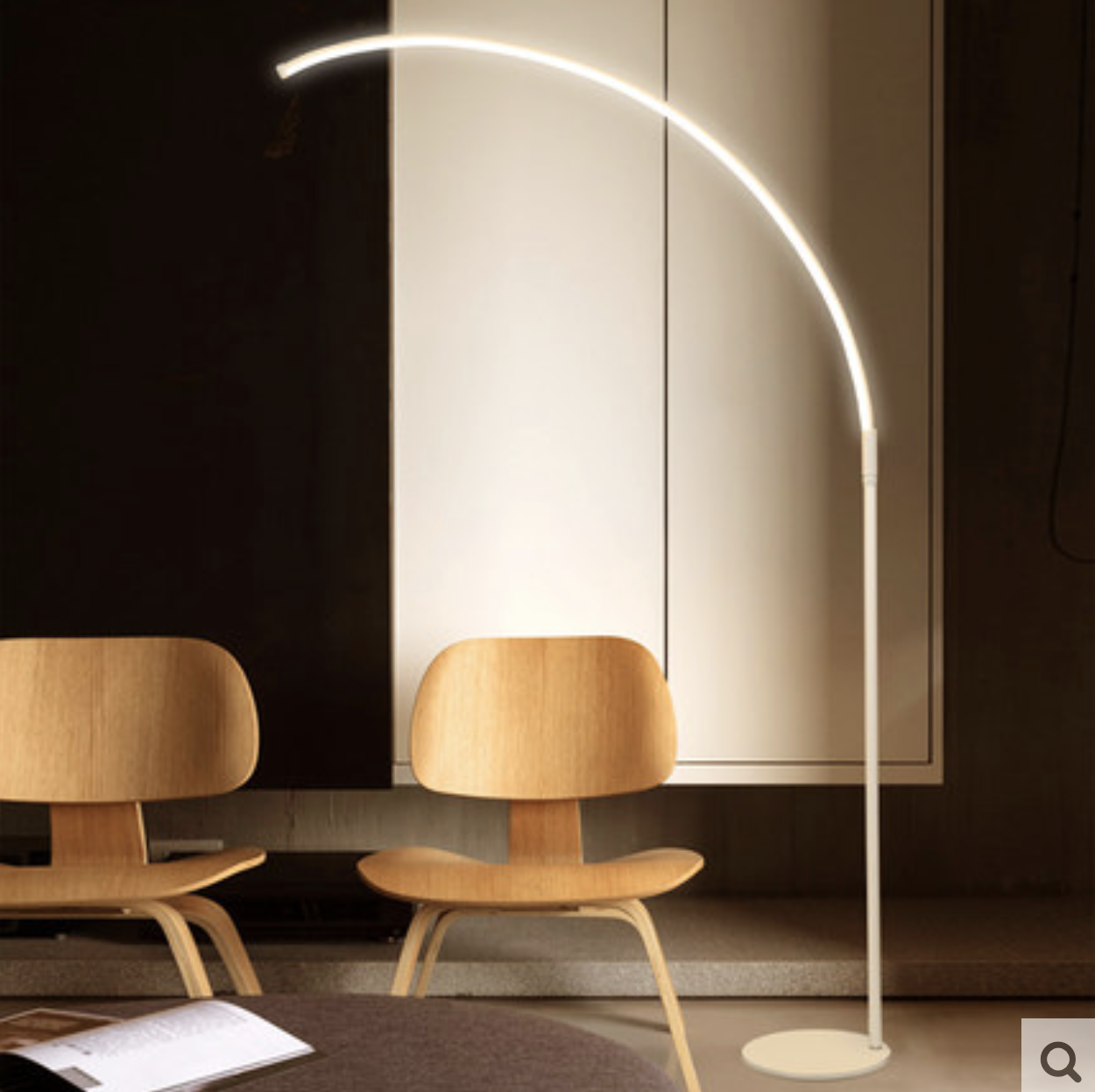Minimalist Furniture Taobao - Curved standing lamp