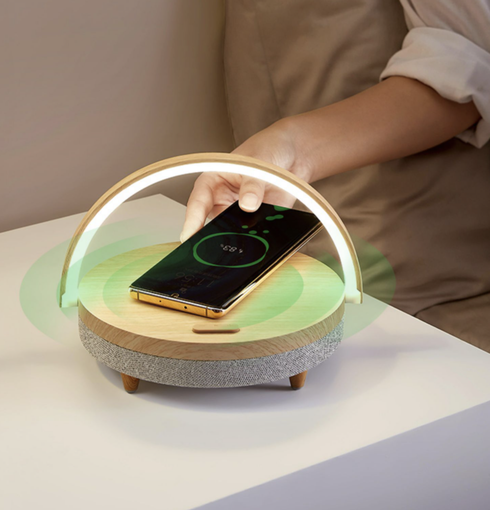 Multifunctional wireless home charger