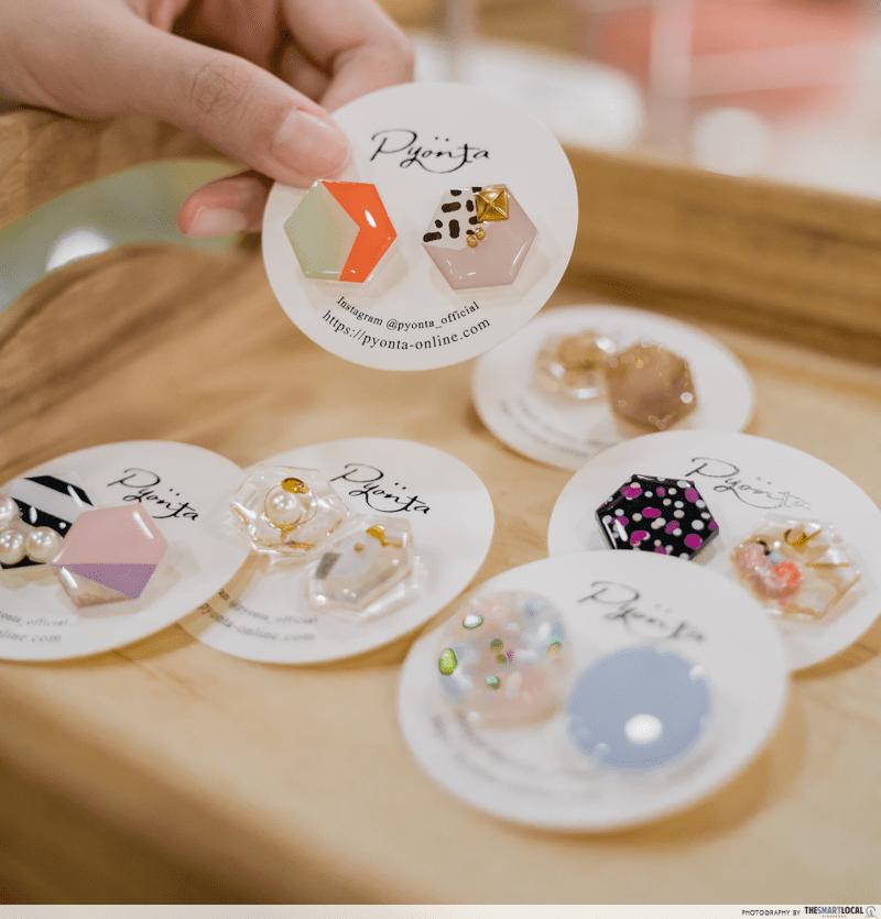 Pyonta Earrings Japanese Brand - Sift & Pick
