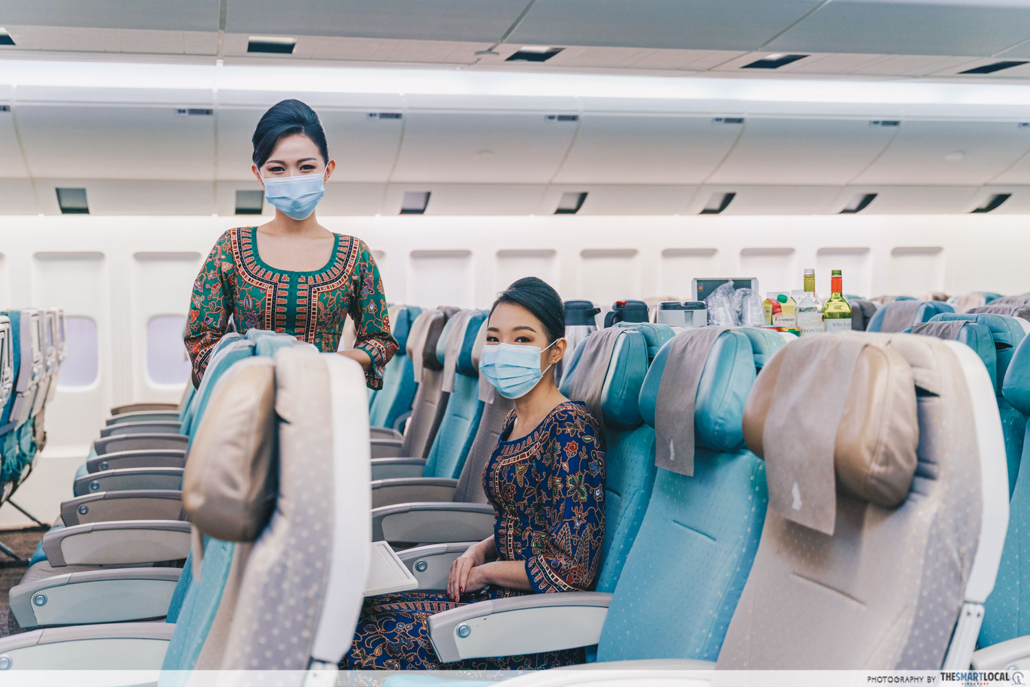 Singapore Airlines Training Centre cabin mock-up