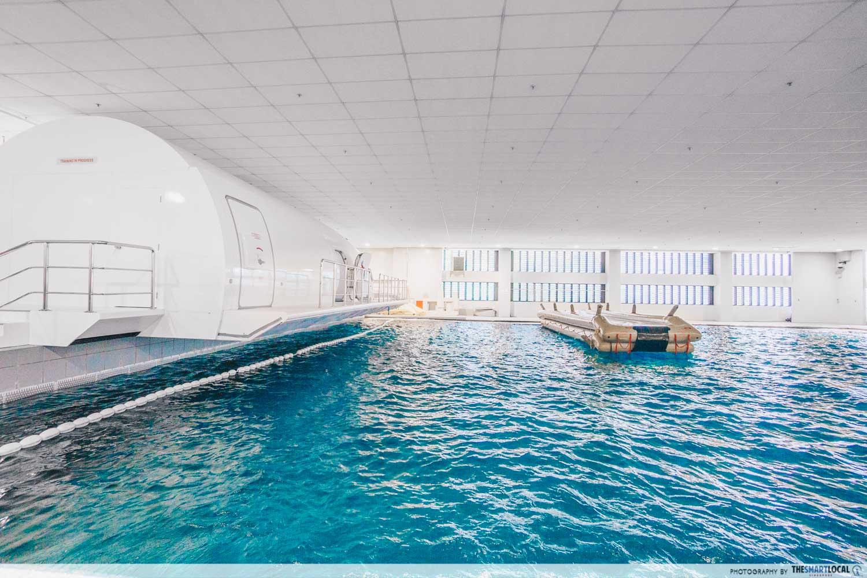 SIA Training Centre wave pool