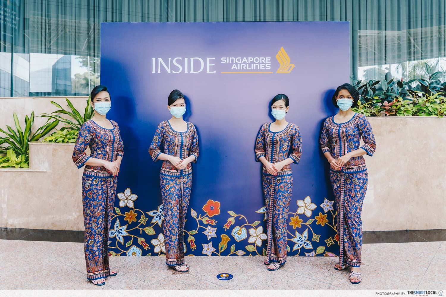 Inside Singapore Airlines tour