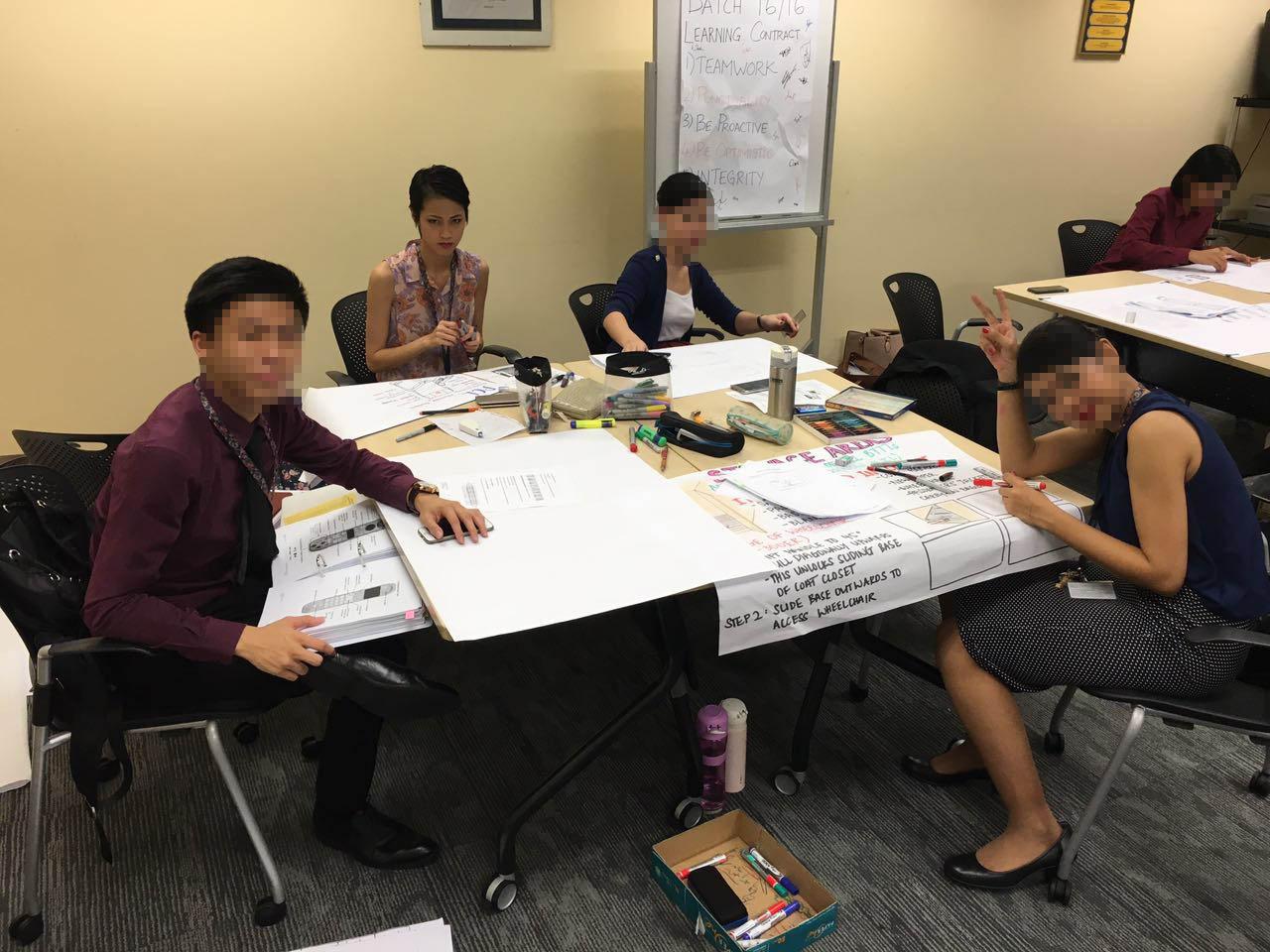 Singapore Airlines cabin crew training