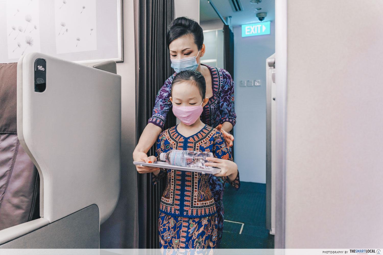 Inside Singapore Airlines junior cabin crew programme