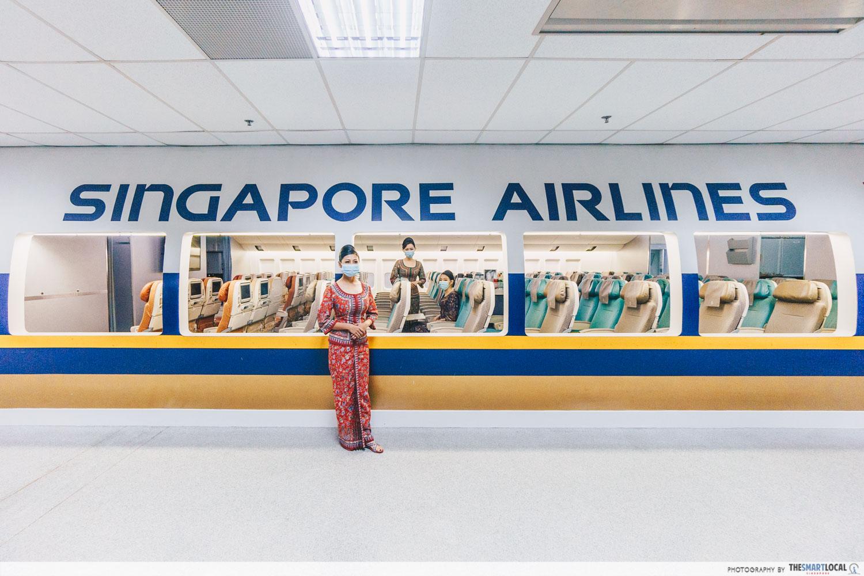 SIA Training Centre aircraft cabin mock-ups