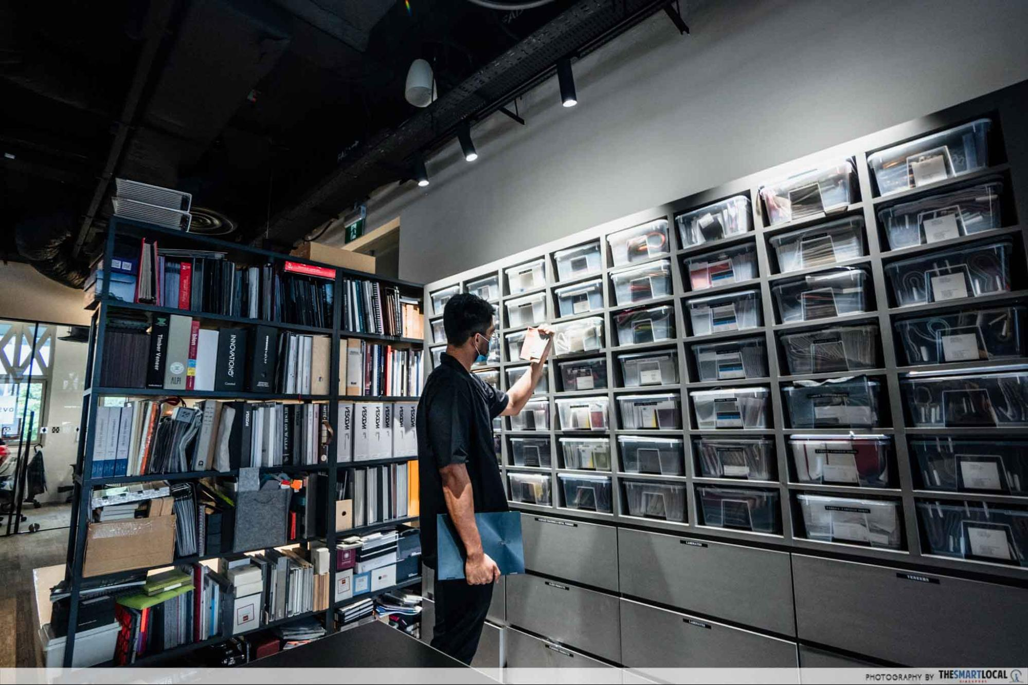 paperwork resource library, workspaces in singapore