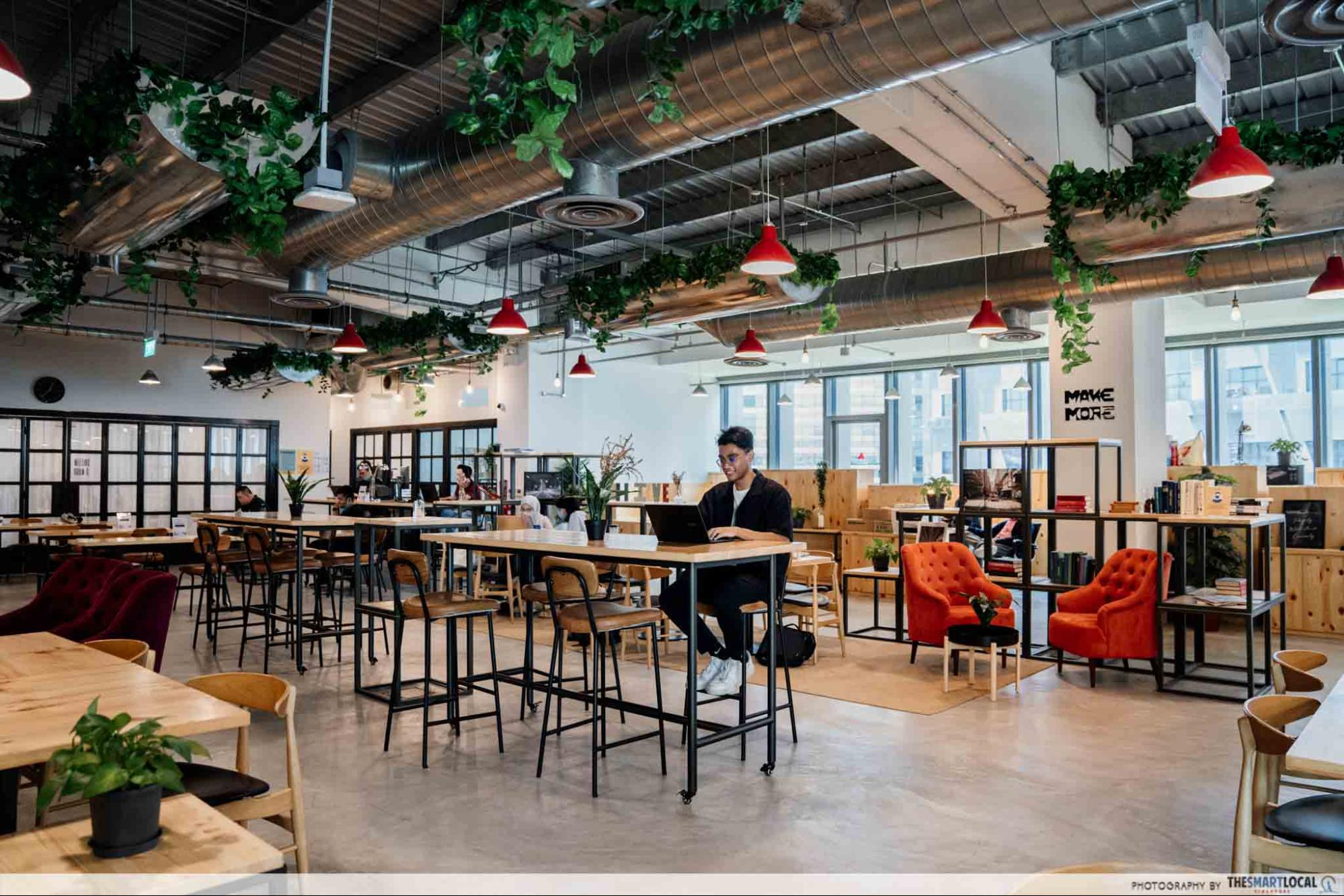 the hive lavender, workspaces in singapore