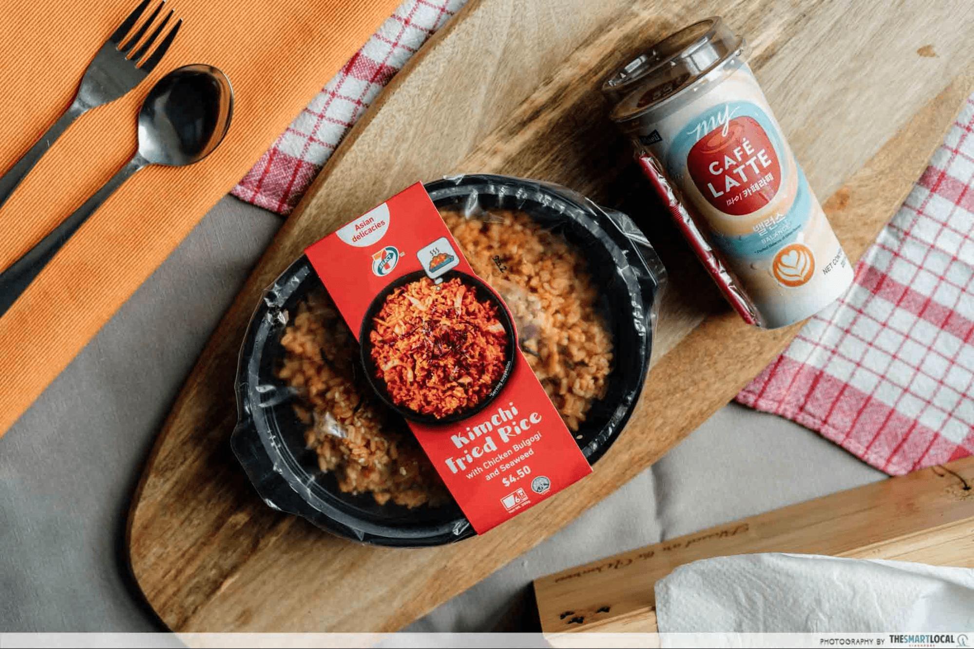 7-Eleven Kimchi Fried Rice - foodpanda 11.11 sale
