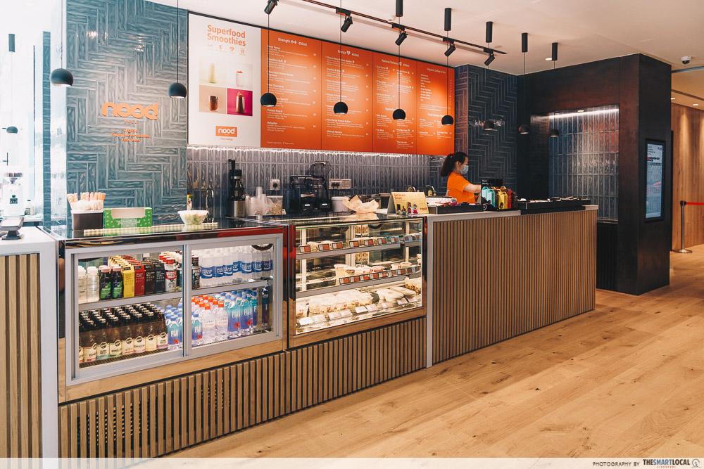 Pure Fitness Suntec - nood food cafe