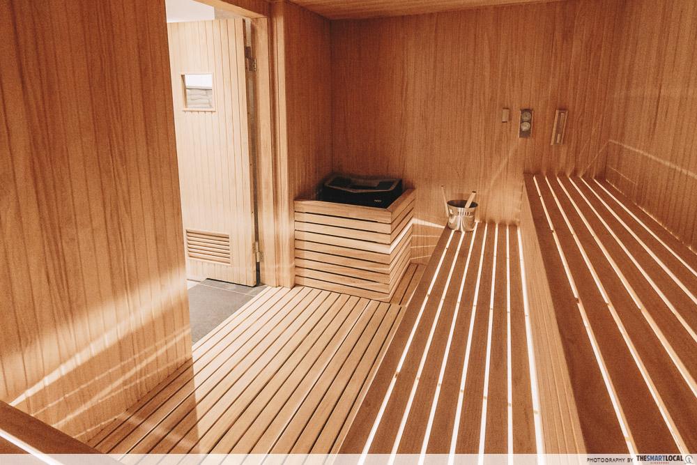 Pure Fitness Suntec - sauna