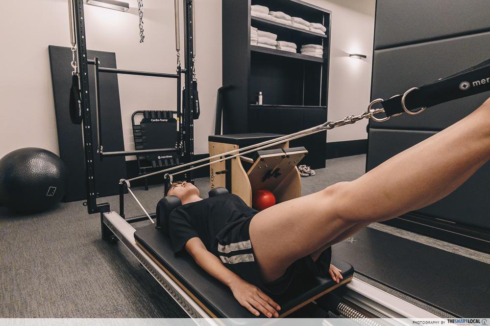 Private Training Studio - pilates reformer machine