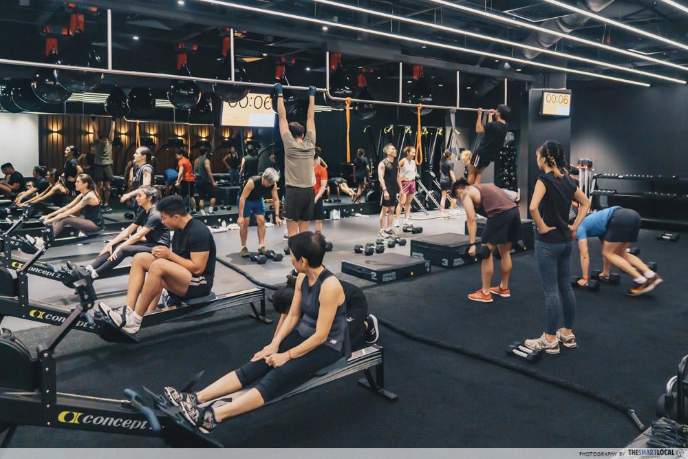 Pure Fitness Suntec - FUZE classes