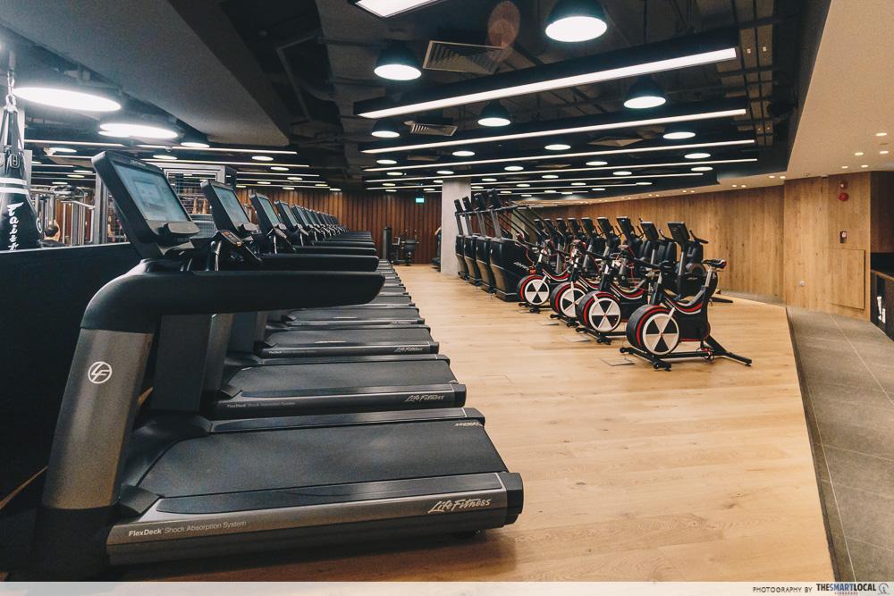 Pure Fitness Suntec - Cardio zone