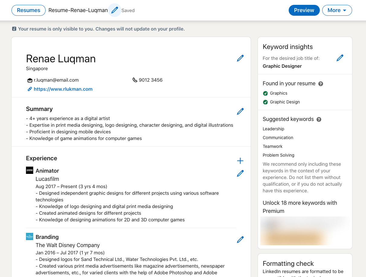 10 Best Resume Builders With Free Trials To Upgrade Amateur Looking Ms Docs